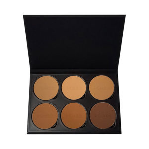 Fixx Powder Book - Tan-Deep Palette